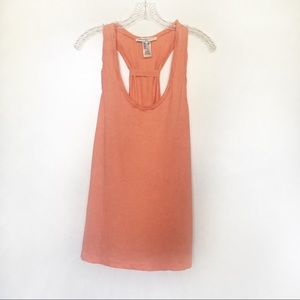 Splendid for Lucy tank top orange racerback bow
